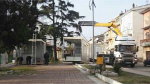 Torretta, iniziato l'allestimento per l'Ufficio Postale provvisorio (1)