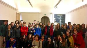 """Visita al MARCH per gli studenti del Liceo Classico """"Pitagora"""" di Crotone (1)"""