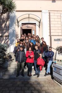 """Visita al MARCH per gli studenti del Liceo Classico """"Pitagora"""" di Crotone (2)"""